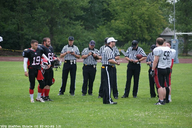 Gameday 01.07.2012 | Crusaders vs. Spandau Bulldogs