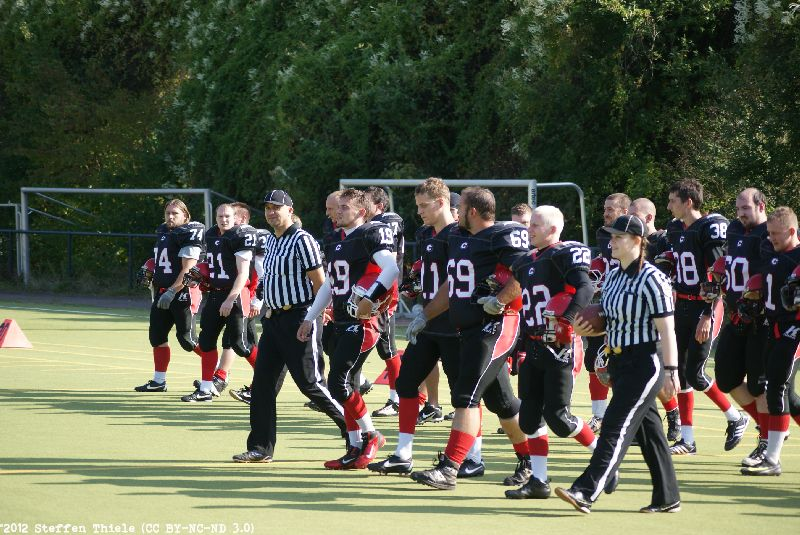 Gameday 16.09.2012 | Crusaders @ Berlin Bullets