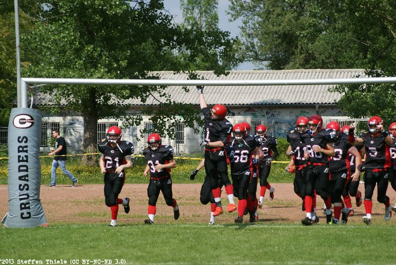 Gameday 06.07.2013 | Crusaders vs. Potsdam Royals