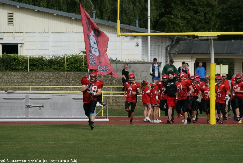 Gameday 01.09.2013 | Varlets @ Spandau Bulldogs U19