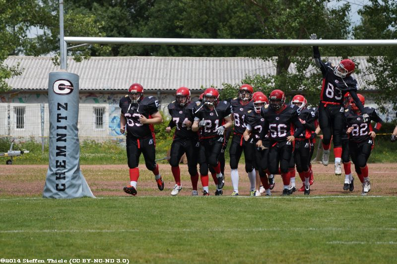 Gameday 15.06.2014 | Crusaders vs. Berlin Rebels II