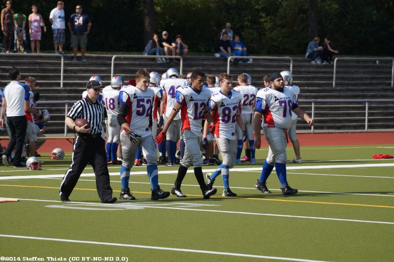 Gameday 06.09.2014 | Varlets @ Berlin Bears