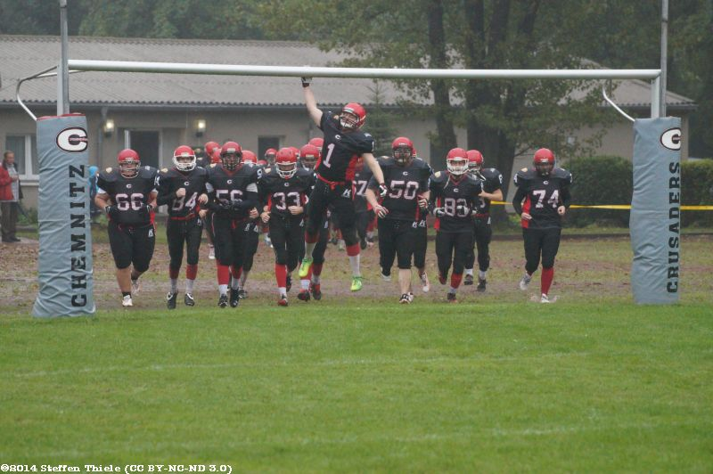 Gameday 13.09.2014 | Crusaders vs. Berlin Bears