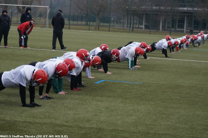 Varlets + Claymores Trainingscamp 15.03.2015