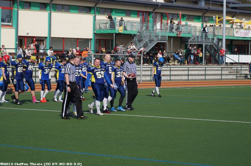 Preseason 12.04.2014 | Crusaders @ Radebeul Suburbian Foxes