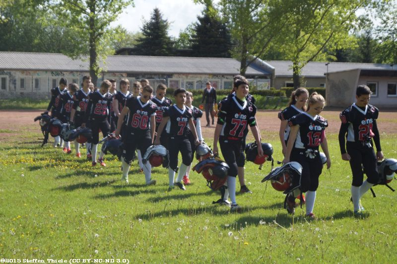 Gameday 17.05.2015 | Claymores vs. Dresden Monarchs U16