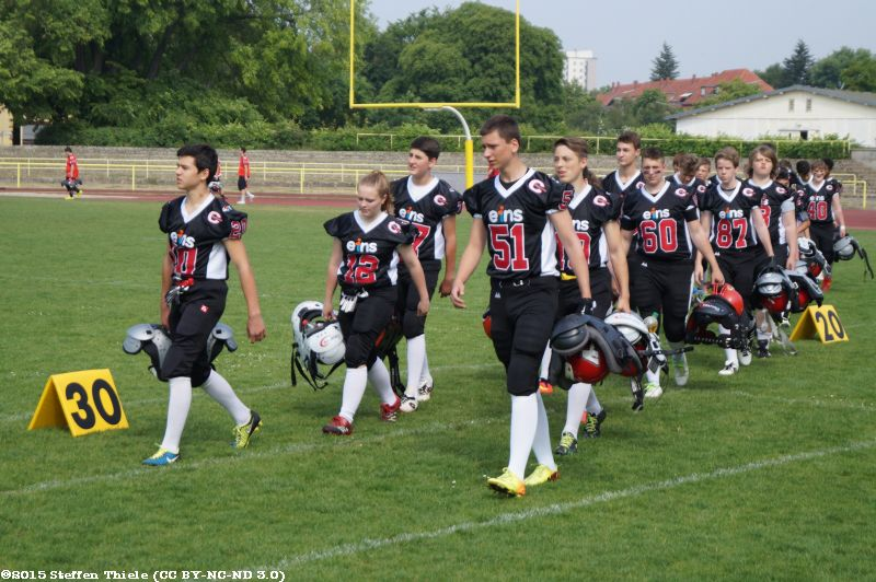 Gameday 13.06.2015 | Claymores @ Spandau Bulldogs