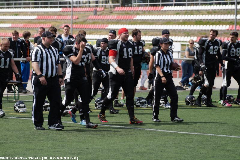 Gameday 21.06.2015 | Crusaders @ Erkner Razorbacks