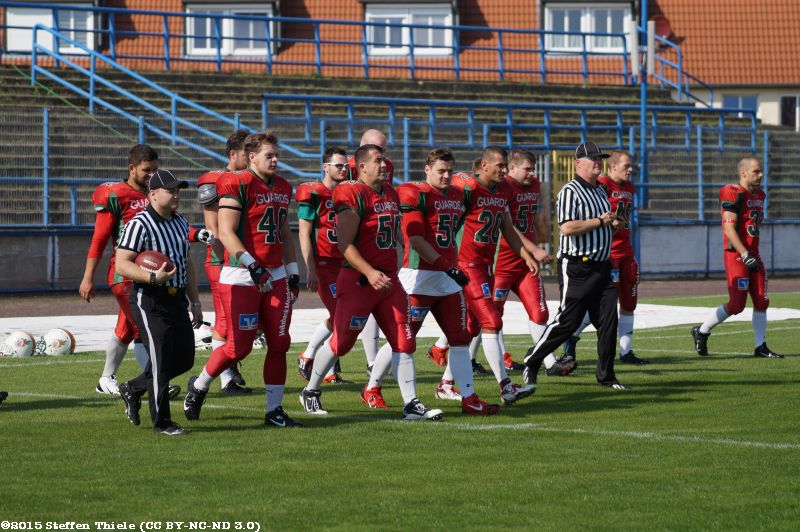 Gameday 23.08.2015 | Crusaders @ Magdeburg Virgin Guards