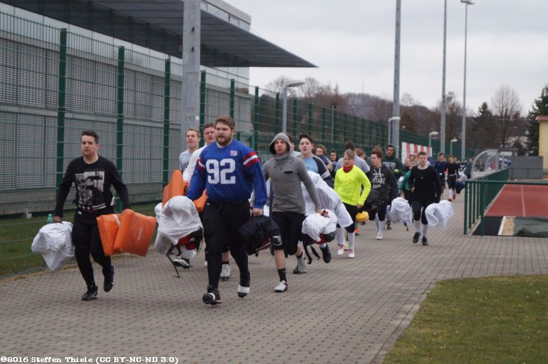 Varlets + Claymores Trainingscamp 20.03.2016