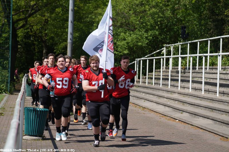 Gameday 07.05.2016 | Varlets @ Berlin Thunderbirds