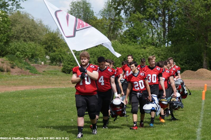Gameday 21.05.2016 | Varlets vs. Potsdam Royals