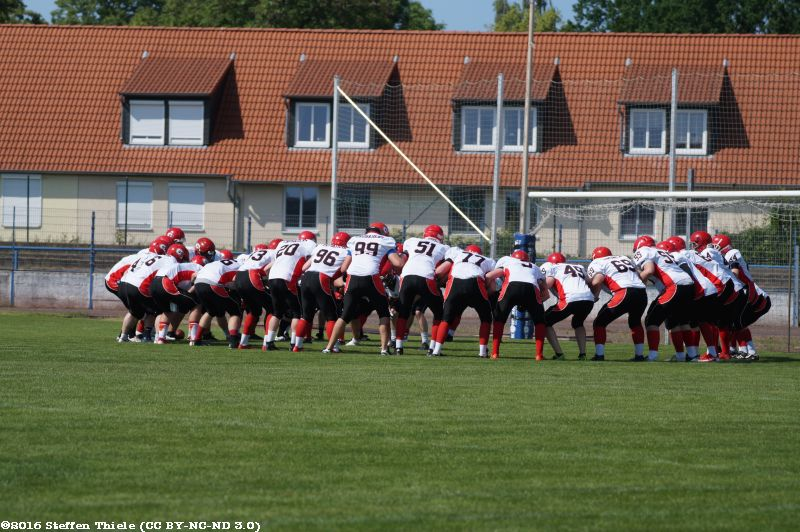 Gameday 05.06.2016 | Crusaders @ Magdeburg Virgin Guards