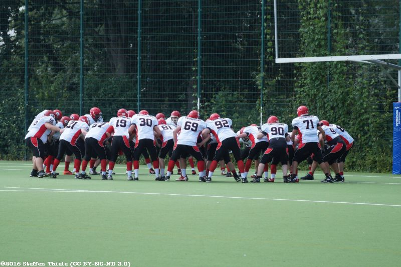 Gameday 25.06.2016 | Crusaders @ Berlin Thunderbirds