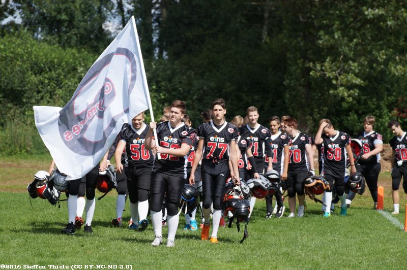 Gameday 21.08.2016 | Claymores vs. Dresden Monarchs U16