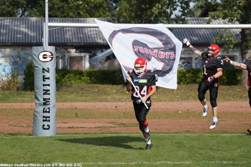 Gameday 25.09.2016 | Crusaders vs. Magdeburg Virgin Guards
