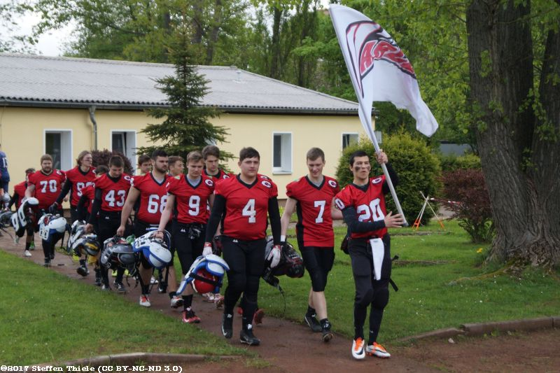 Gameday 14.05.2017 | Varlets vs. Leipzig Junior Lions