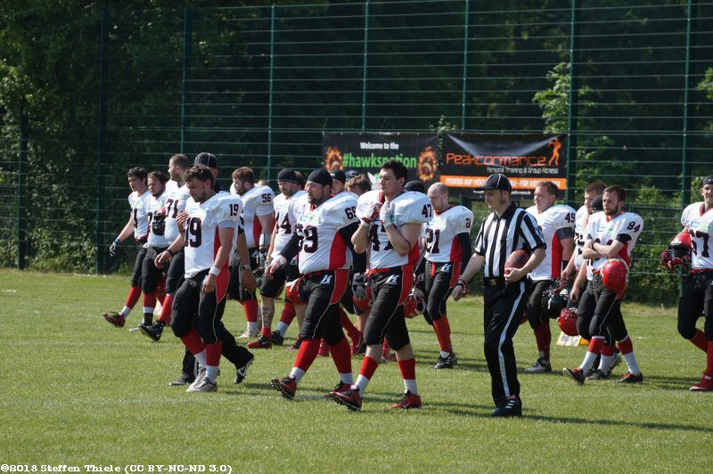 Gameday 12.05.2018 | Crusaders @ Leipzig Hawks