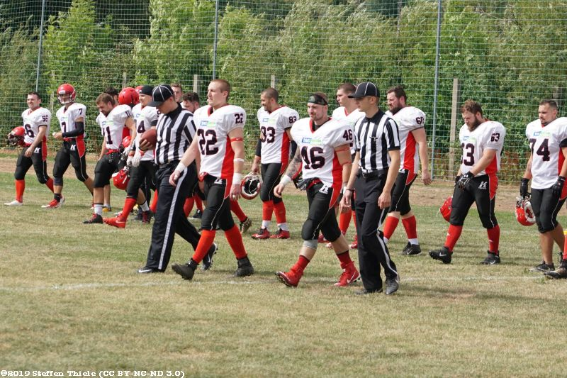 Gameday 18.08.2019 | Crusaders @ Wernigerode Mountain Tigers