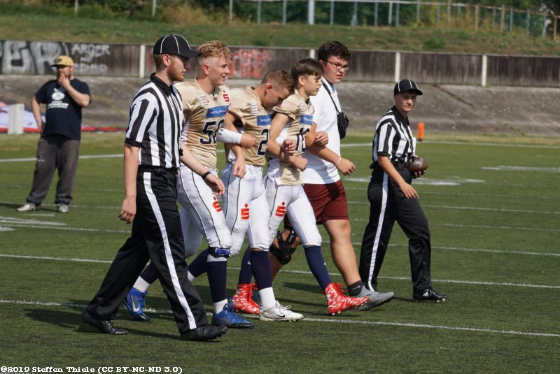 Gameday 24.08.2019 | Claymores @ Dresden Monarchs U16